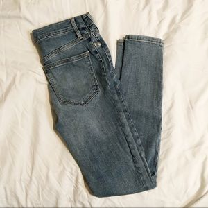 FP High Waisted Skinny Jeans